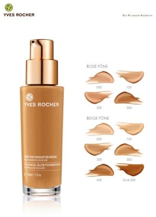 Yves Rocher Make Up Fluid Strahlende Jugendlichkeit